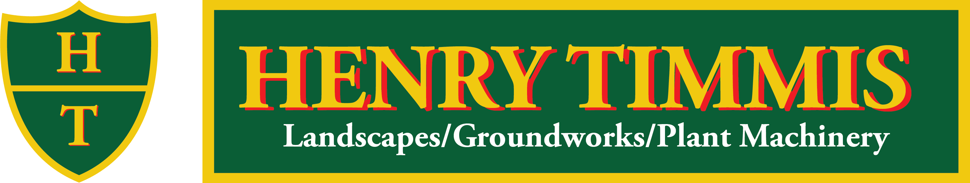 Henry Timmis Landscapes/Groundworks/Plant Machinery Devizes Logo 2020